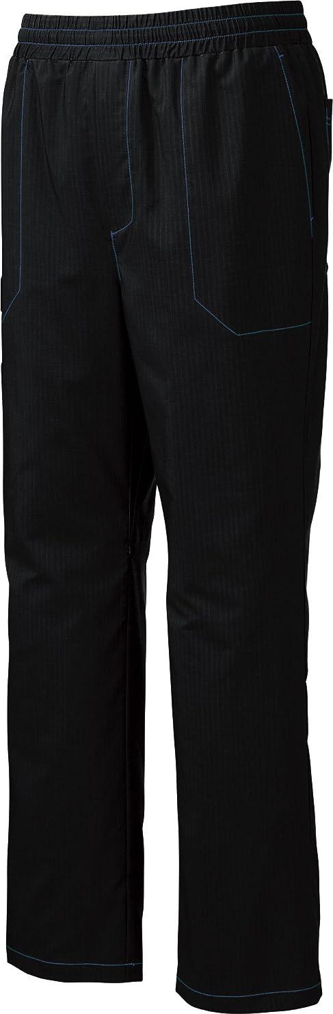ピンポイント読書をする征服ミズノ(MIZUNO) メディカル スクラブ パンツ メンズ レディース 男女兼用 医療用 白衣 【(ユナイト) UNITE】 MZ0158-10 ブラック L