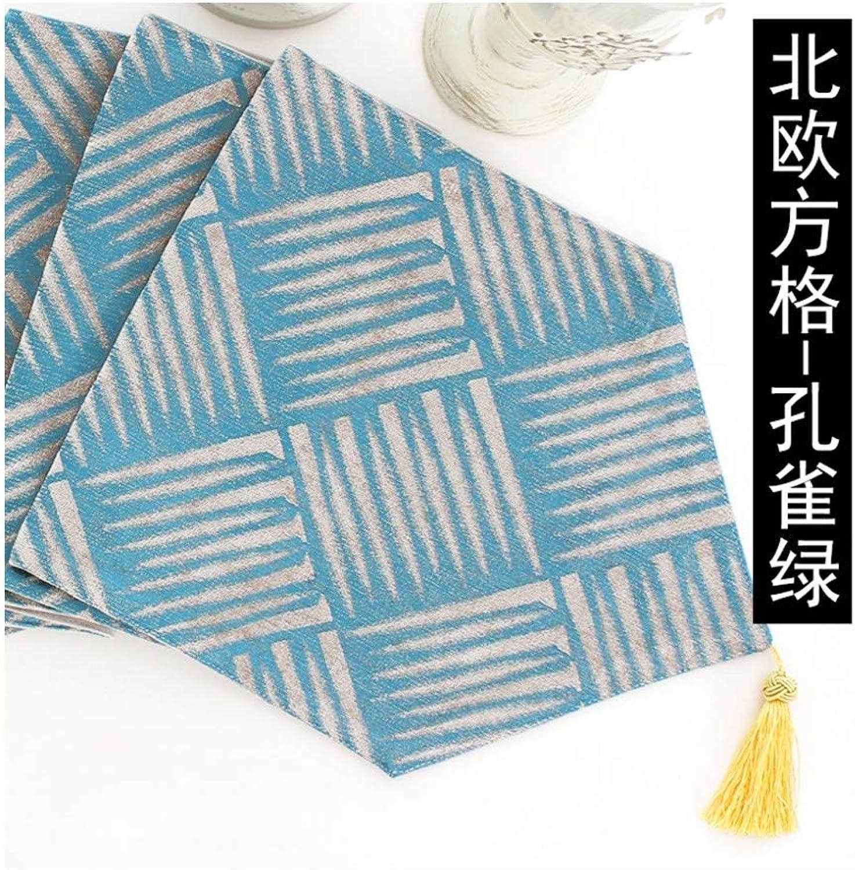 JUNYZZQ Tischläufer Esstisch Flagge Modern Minimalistischen Nordischen Geometrischen Couchtisch Flagge Japanisch Amerikanisch Mahlzeit Flagge Bett Bett Towel Bunting 30X210 cm B07MVC4CFC Mangelware | Konzentrieren Sie sich auf das Babyleben