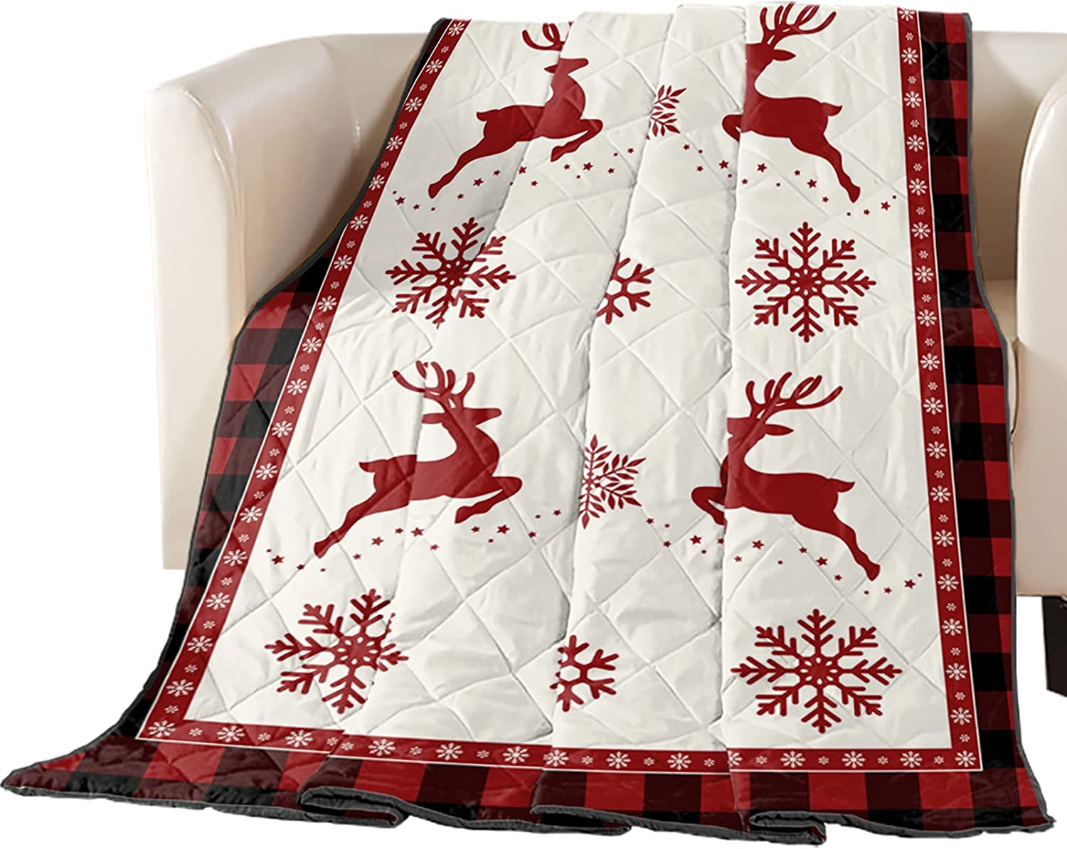 Down Alternative Reversible Comforter Cotton Throw Same day shipping Fill Max 68% OFF Quilted