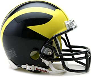 NCAA Michigan Wolverines Replica Mini Football Helmet