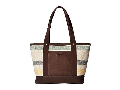 Pendleton Tote (Glacier Stripe) Tote Handbags
