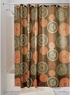iDesign Bazaar Fabric Shower Curtain for Master, Guest, Kids', College Dorm Bathroom, 72