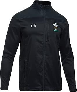 Under Armour 2018-2019 Wales Rugby WRU Travel Jacket (Black)