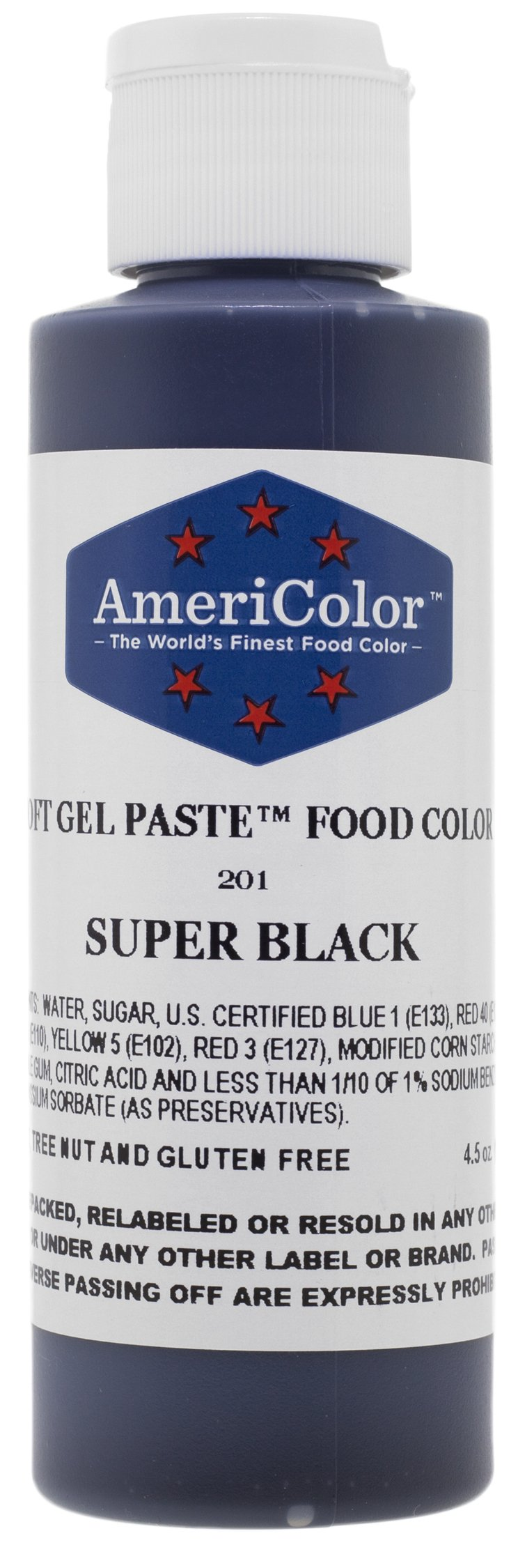 Food Coloring AmeriColor - Bright White Soft Gel Paste, 20 ...