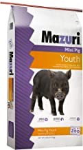 Mazuri Mini Pig Youth Diet Pig Food, 25 lb Bag