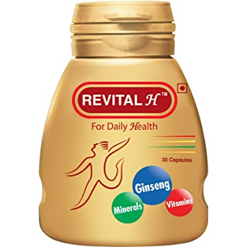 Revital H For Daily Health Capsules - 30 Capsules