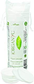 Organyc Certified Organic Cotton Rounds 70 Count (Pack of 6)