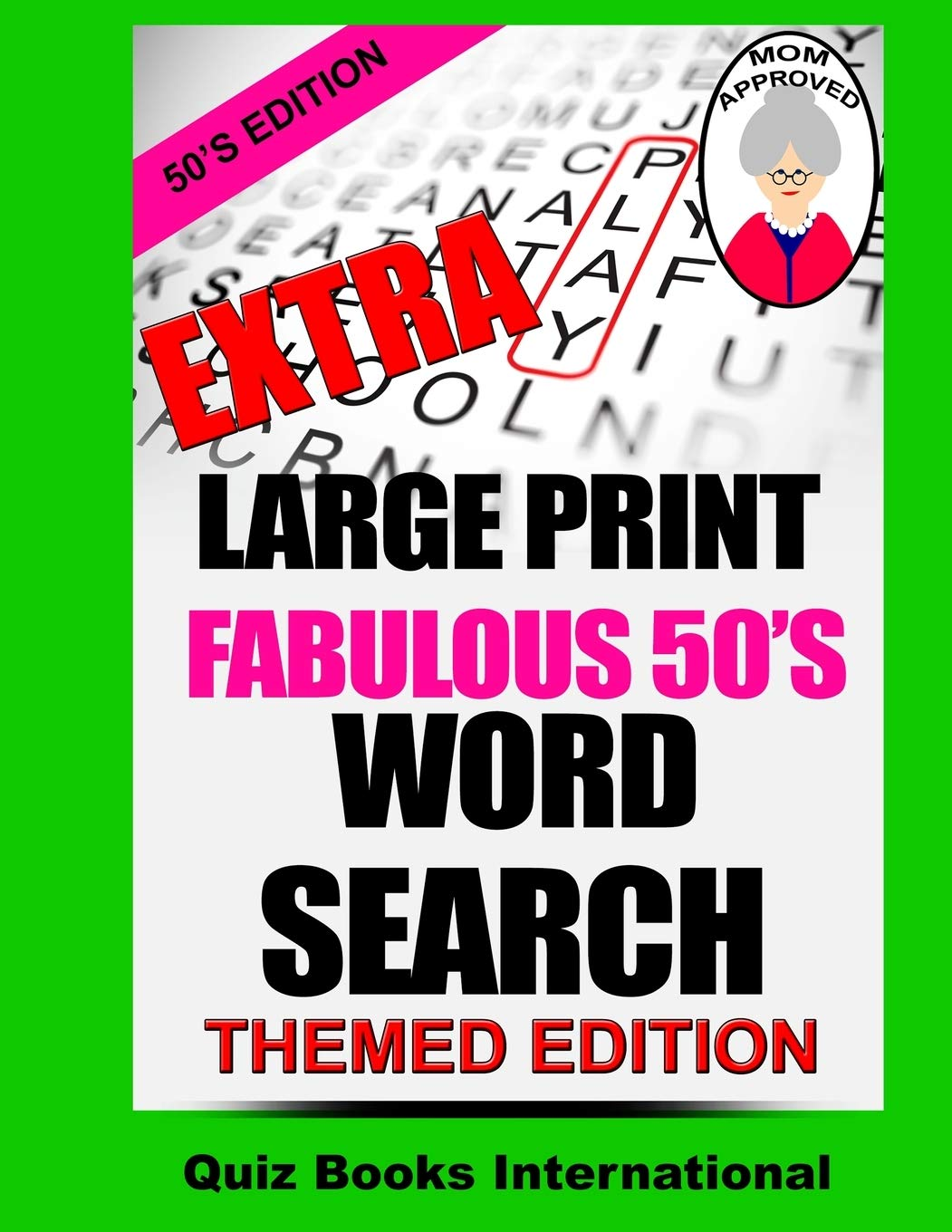 Download Extra Large Print Word Search Fabulous 50's Edition 