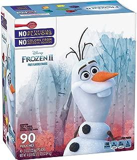 Disney Frozen 2 Fruit Flavored Snack ~ 90 count