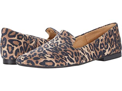 Naturalizer Lorna (Dark Brown Cheetah Fabric) Women