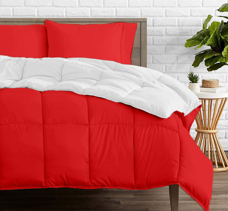 Reversible Comforter - All-Season High order Classic Luxury T Organic Cotton 100%