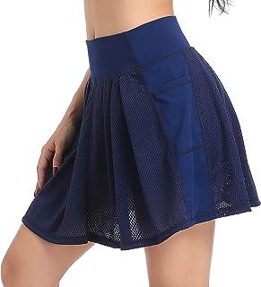 Annjoli Women's Skort Active Athletic Skirt for Running Tennis Golf Workout Sports Skorts