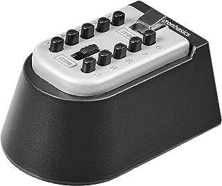 Amazon Basics Wall Mounted Key Storage Box - Push Button Combination Lock - Black