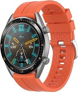 Armband för Huawei Watch GT/GT2 46 mm/GT 2e/GT Active/Honor Magic Watch 2 46 mm rem silikon sportband vattentätt ersättnin...