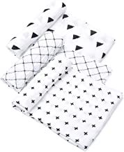 Tosnail Muslin Baby Swaddle Blankets, Super Soft Touch - 47
