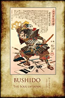 Bushido, the Soul of Japan: With 13 Full-Page Colour Illustrations from the Time of the Samurai
