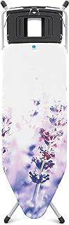 Brabantia 108907 Table à repasser C Acier Inoxydable Lavande 124 x 45 cm
