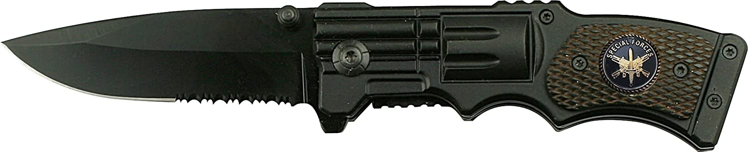 none brand Tac Force Yc-524Sf Tactical Assisted Opening Folding