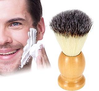 ZONSUSE Scheerborstel voor mannen, veganistisch vriendelijke scheerkwast - synthetische scheerborstel nylon scheerborstels...