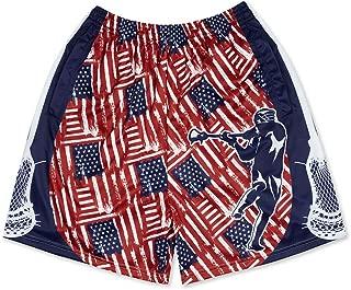 Premium Lacrosse Athletic Shorts   Various Designs & Sizes