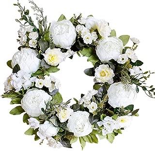LASPERAL Peony Wreath 15