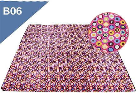 Picknick-Matte für den Außenbereich, dick, tragbar, für Picknick, Ausflüge, wasserdicht, Oxford-Gewebe B07MJK9RBB | Schön und charmant