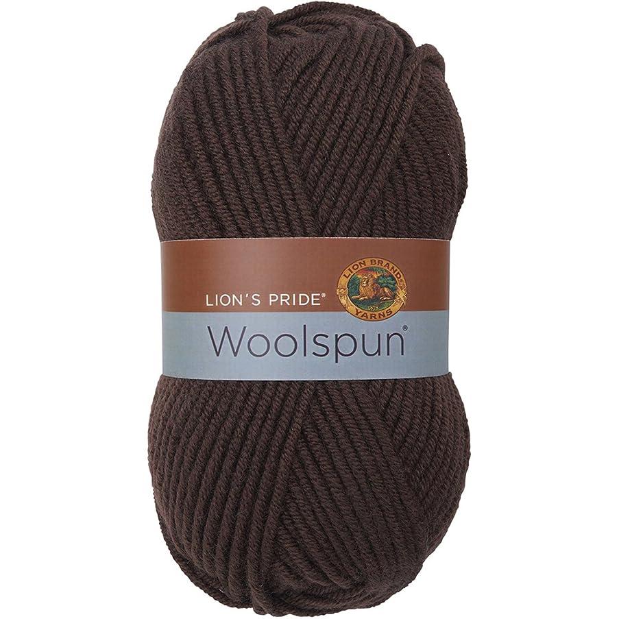 Lion Brand Yarn 671-126 Lion's Pride Woolspun, Coffee
