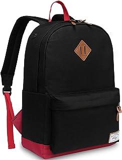 School Backpack, Kasqo Water-Resistant Classic Backpack for Men Women