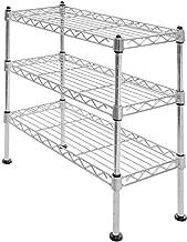 Seville Classics 3-Tier UltraZinc Cabinet Organizer, 17.5