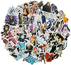 Fairy Tail 50pcs/Pack Stickers Variety Vinyl Car Sticker Motorcycle Bicycle Luggage Decal Graffiti Patches Skateboard Stickers for Laptop Stickers for Kid and Adult (Fairy Tail)