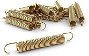 Ampel 24 Trampoline vervangende veer set van 12 veren, ca. 165 mm trekveerlengte, veer extra versterkt en duurzaam