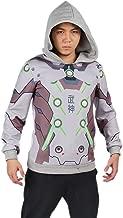 Xcoser Teens Genji Hoodie Sweatshirt Pullover Costume for Halloween Cosplay