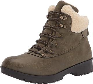 JBU by Jambu womens Redrock- Water Resistant Fashion Boot, Olive, 9.5 US