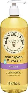 Burts Bees Baby Shampoo & Wash Calming by Burts Bees for Kids - 21 oz Shampoo & Body Wash, 620 ml