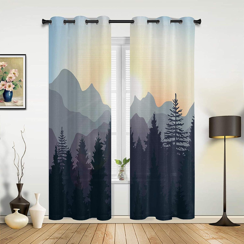 Window Manufacturer direct delivery Sheer Curtains for Bedroom Sunset Room Sundown Al sold out. Living Mou
