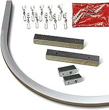 Aluminum Ceiling Track Bend (90˚ Bend)