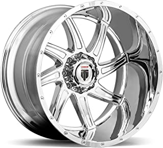 AMERICAN TRUXX VORTEX AT162 Wheel with Chrome Finish (24 x 14. inches /8 x 180 mm, -76 mm Offset)