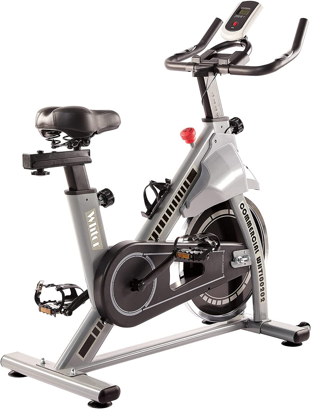 WHTOR Don't miss the campaign Indoor Exercise Bike Beauty products Stationary a Cycling with Pedal