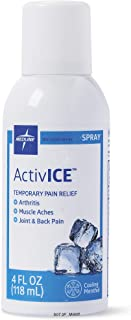 Medline ActivICE Topical Pain Reliever 4 oz Spray