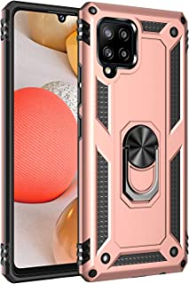 Wuzixi Case for Samsung Galaxy A42 5G. Sturdy and Durable, Built-in Kickstand, Anti-Scratch, Shock Absorption, Durable, Co...