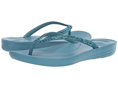FitFlop Iqushion Sparkle (Teal) Women