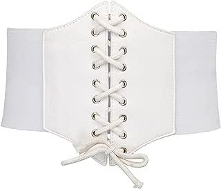 Best white waist corset Reviews