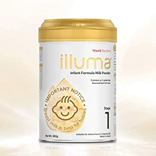 Wyeth Nutrition ILLUMA Stage 1 Infant Formula 900g