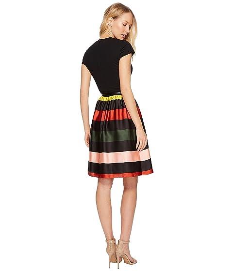 Ted Baker Aneli Cruise Stripe Bow Midi Dress At 6pm