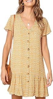 e21df9c280 Amazon.com: Yellows - Dresses / Clothing: Clothing, Shoes & Jewelry