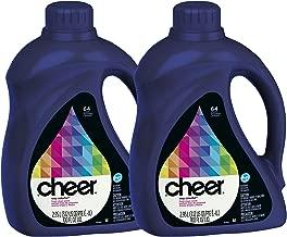 Cheer HE Liquid Detergent - 100 oz - Fresh Clean Scent - 2 pk