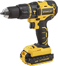Stanley Power Tool Cordless 20V 1.5 AH LI-ION BRUSHLESS HAMMER DRILL,SBH20S2K-B5