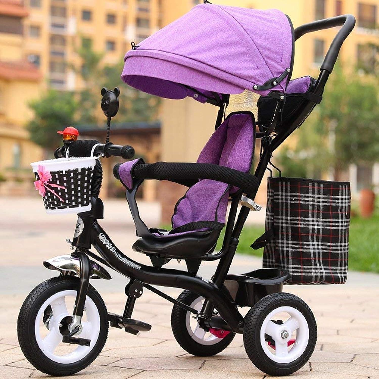 Yuany Aufblasbarer Babykinderwagen, Fahrrad, Kinderdreirad, Leichter Wagen, Kinderfahrrad (Farbe    5)