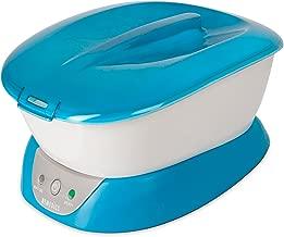 ParaSpa Paraffin Wax Bath | Wax Warmer | BONUS 3 lb . Paraffin Wax & 20 Hand Liners | Soothing Hand & Foot Spa | Moisturizing System | Hypoallergenic | HoMedics