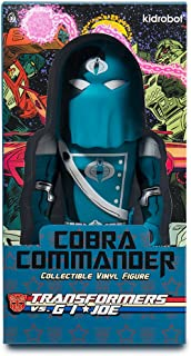 Kidrobot Cobra Commander Medium Figure Collectable Vinyl Toy